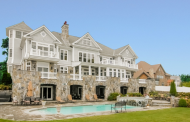$5.9 Million Stone & Shingle Mansion In Port Chester, NY