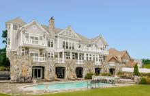 $5.9 Million Stone & Shingle Mansion In Port Chester, NY