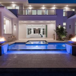 Rear Exterior w/ Pool