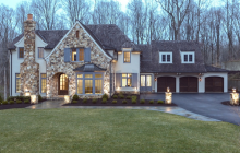 $4.295 Million Newly Built French Country Inspired Mansion In McLean, VA