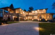 $3.788 Million Newly Built Contemporary Home In Bellevue, WA