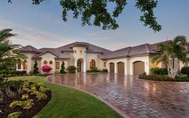 $2.59 Million Newly Built Mediterranean Home In Naples, FL