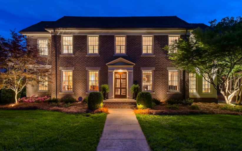 $2.399 Million Brick Home In Charlotte, NC