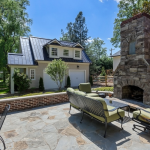 Outdoor Fireplace & Detached Garage