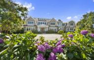 $14.995 Million Gambrel Style Mansion In Sagaponack, NY