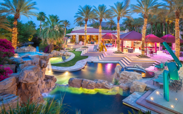 20,000 Square Foot Contemporary Estate In Indian Wells, CA
