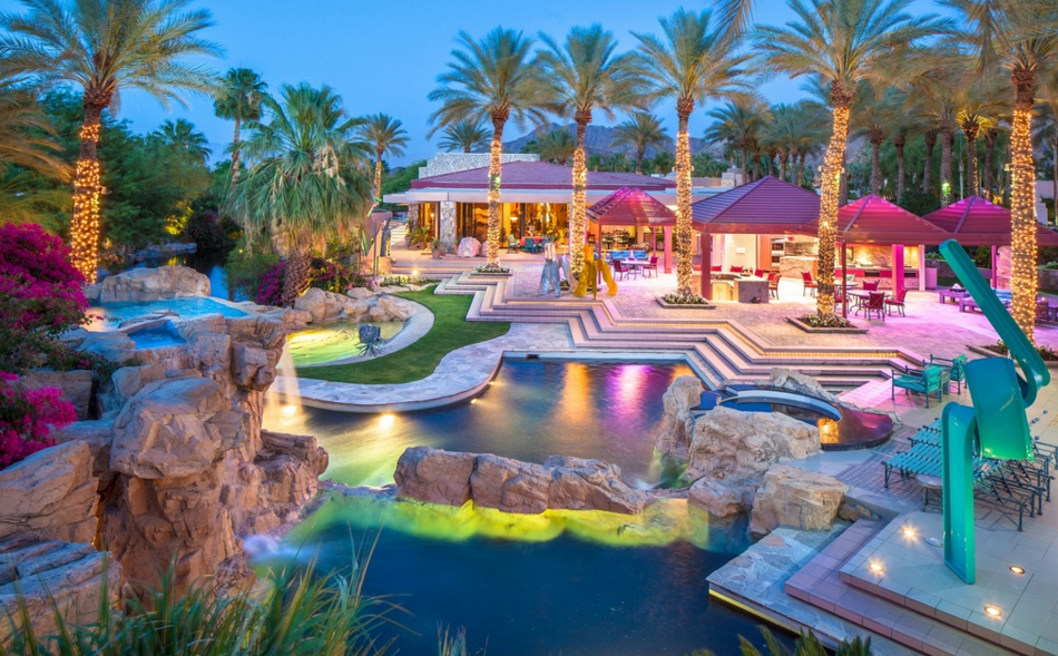 20 000 Square Foot Contemporary Estate In Indian Wells Ca