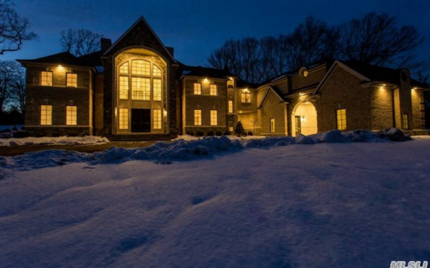 13,000 Square Foot Newly Built Brick & Stone Mansion In Sands Point, NY