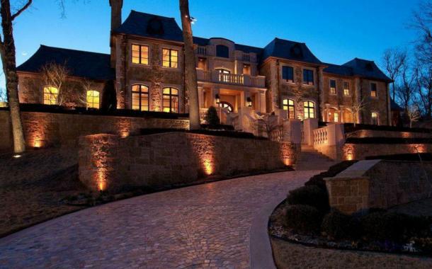 11,000 Square Foot Stone Mansion In Tulsa, OK