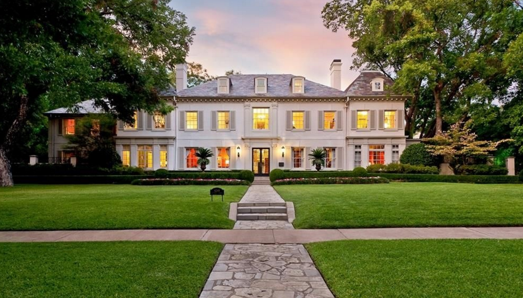 $8.995 Million French Inspired Estate In Dallas, TX