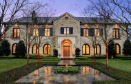 $5.5 Million French Inspired Stone Home In Dallas, TX
