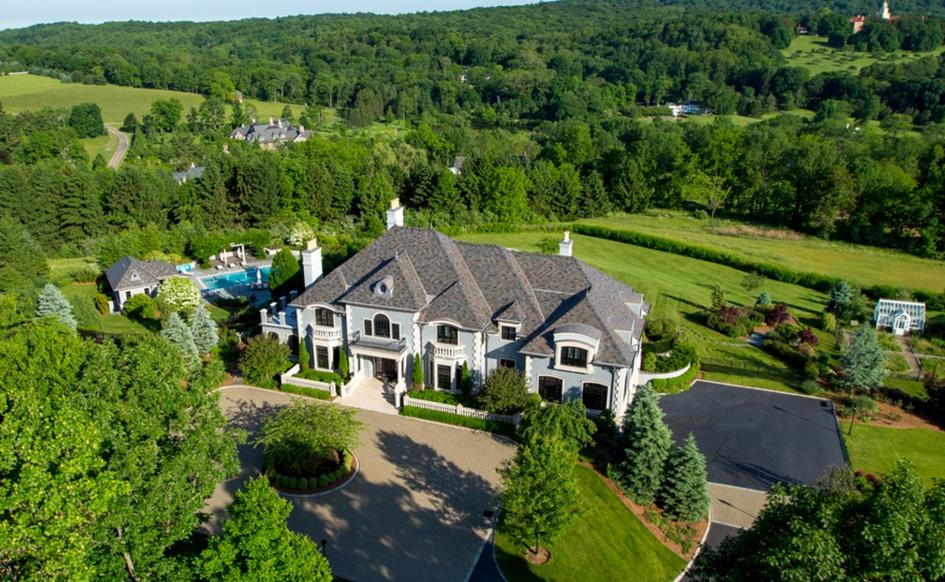 $5.995 Million European Inspired Mansion In Mendham, NJ
