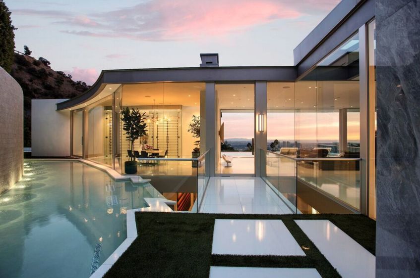$23.95 Million Newly Built Modern Masterpiece In Los Angeles, CA