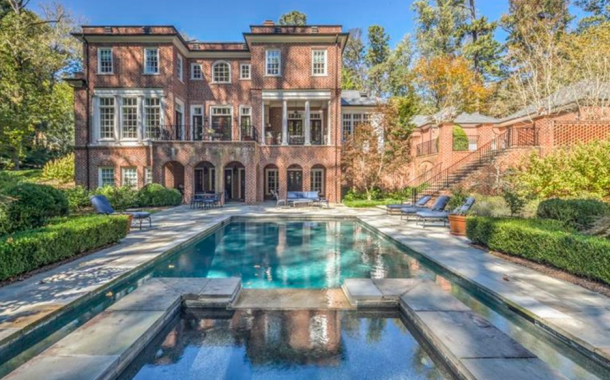 $3.995 Million Brick Mansion In Atlanta, GA