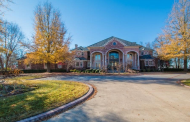 10,000 Square Foot Brick Mansion In Fayetteville, AR