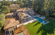 $17.8 Million Newly Built Craftsman Shingle Mansion In Atherton, CA