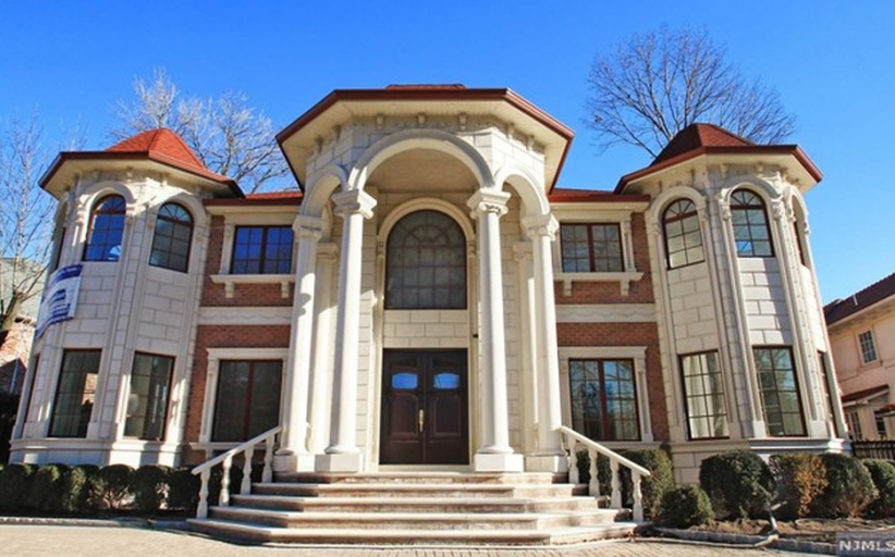 $3.9 Million Newly Built Brick & Stone Mansion In Fort Lee, NJ