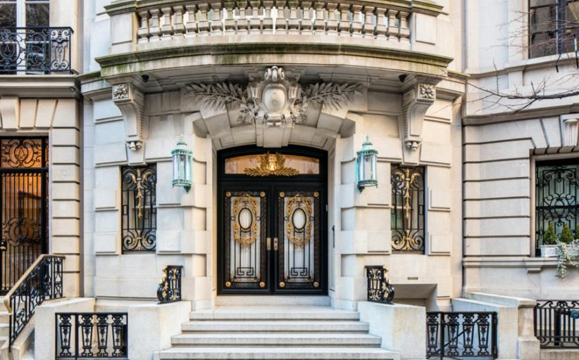 $84.5 Million Limestone Mansion In New York, NY