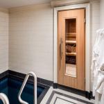 Indoor Plunge Pool & Sauna