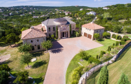$2.2 Million Hilltop Stone Mansion In Austin, TX