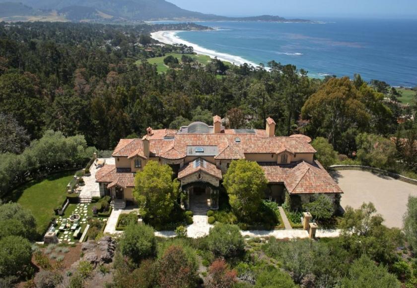 $22 Million Mediterranean Mansion In Pebble Beach, CA