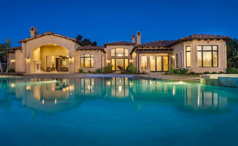 $9.8 Million Newly Built Estate In Rancho Santa Fe, CA