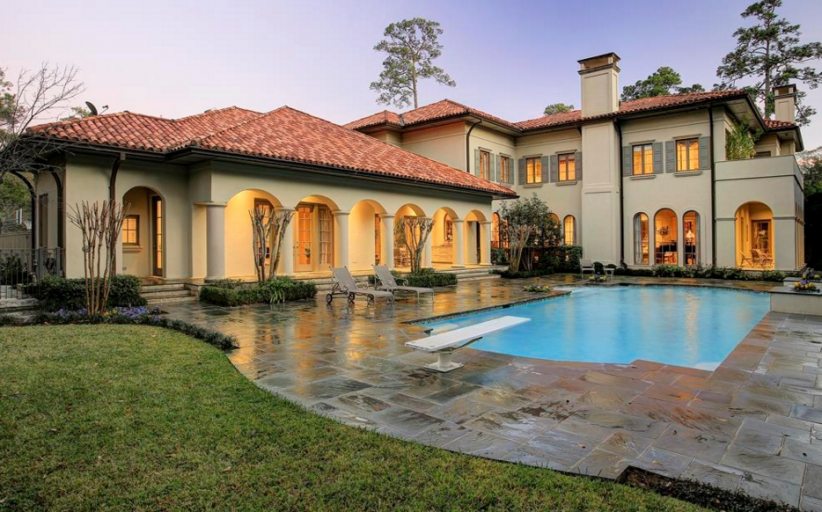 $4.2 Million Mediterranean Mansion In Houston, TX