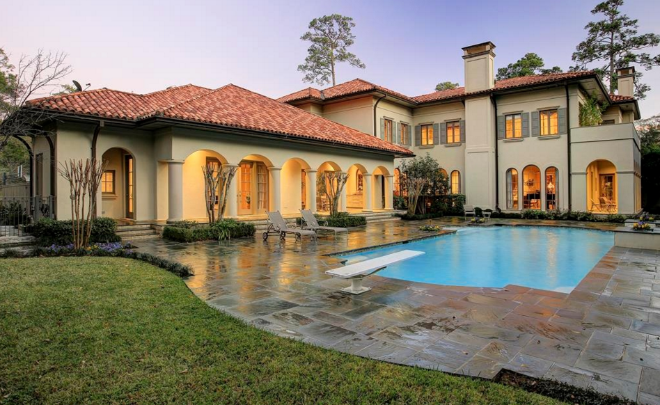 4 2 million mediterranean mansion in houston tx homes Mediterranean style homes houston