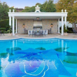 Swimming Pool & Kitchen