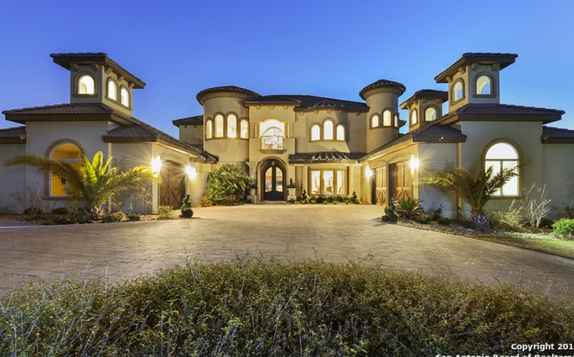 $2.199 Million Newly Built Mediterranean Home In San Antonio, TX