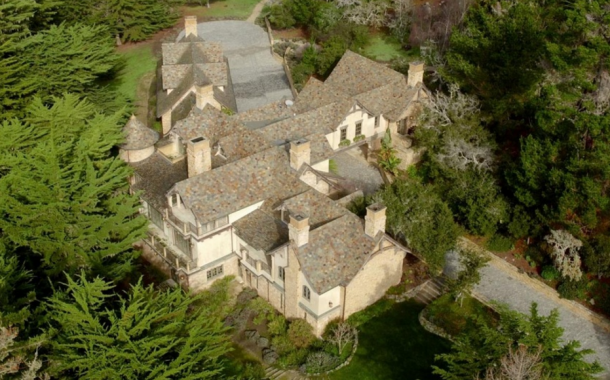 $19.9 Million English Inspired Stone Home In Pebble Beach, CA