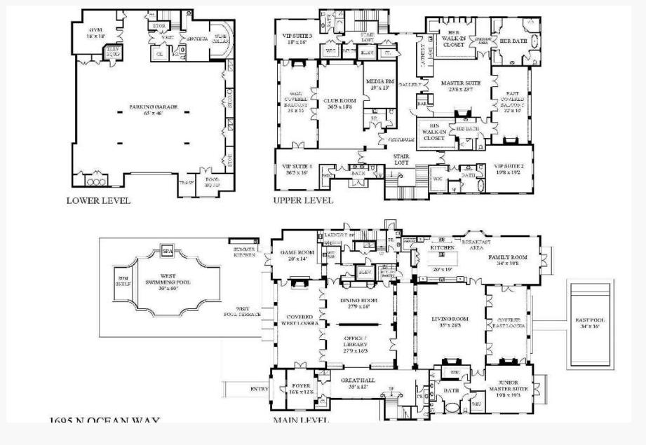 55 Million Newly Built Oceanfront Estate In Palm Beach