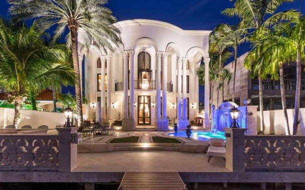 Lavish Waterfront Mansion In Sunny Isles Beach, FL Re-Listed