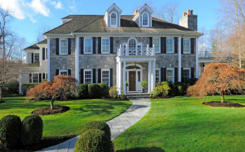$6.5 Million Georgian Colonial Mansion In Greenwich, CT