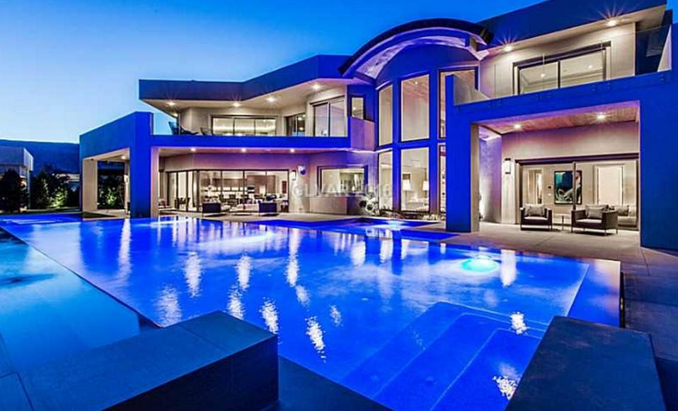 11 975 Million Contemporary Mansion In Las Vegas Nv