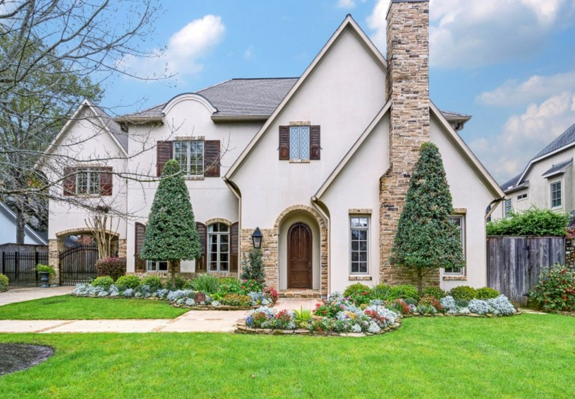 Stone And Stucco Homes Texas : Million stone stucco home in houston tx homes of