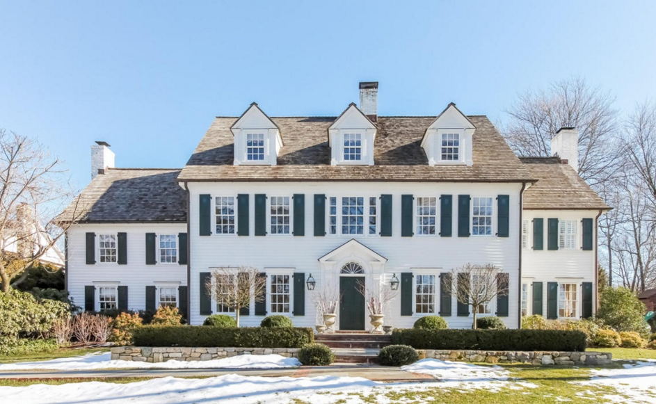 $4.895 Million Historic Colonial Home In Darien, CT