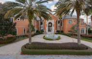 $6.995 Million Lakefront Mansion In Orlando, FL