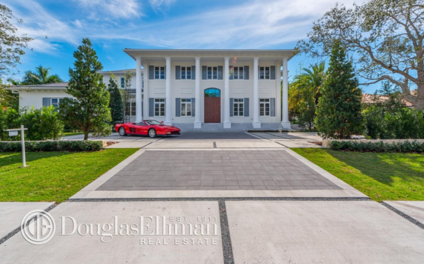 $9.2 Million Newly Built Waterfront Mansion In Coral Gables, FL