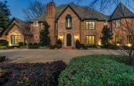 11,000 Square Foot Brick Mansion In Dallas, TX
