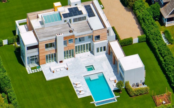 $12.15 Million Contemporary Mansion In Sagaponack, NY
