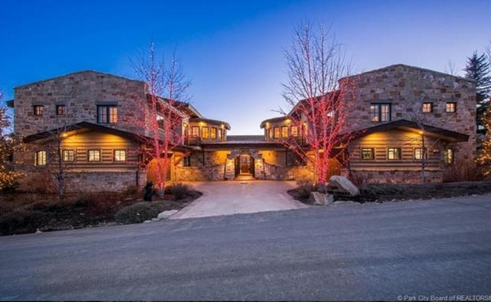 $3.9 Million Wood & Stone Mansion In Park City, UT