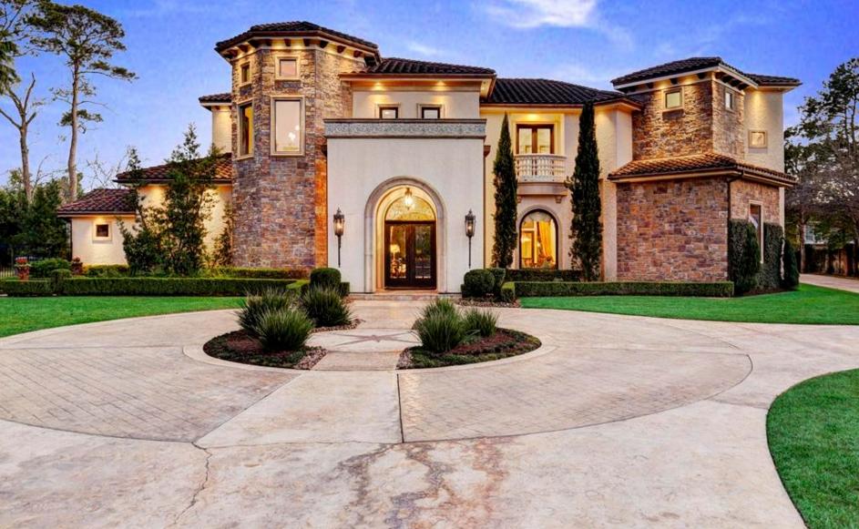 $4.95 Million Mediterranean Mansion In Houston, TX