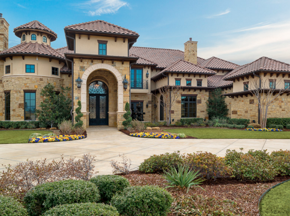 16 beautiful stone stucco homes homes of the rich for Mediterranean stone houses