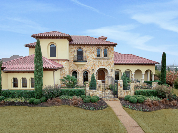 16 Beautiful Stone Amp Stucco Homes Homes Of The Rich