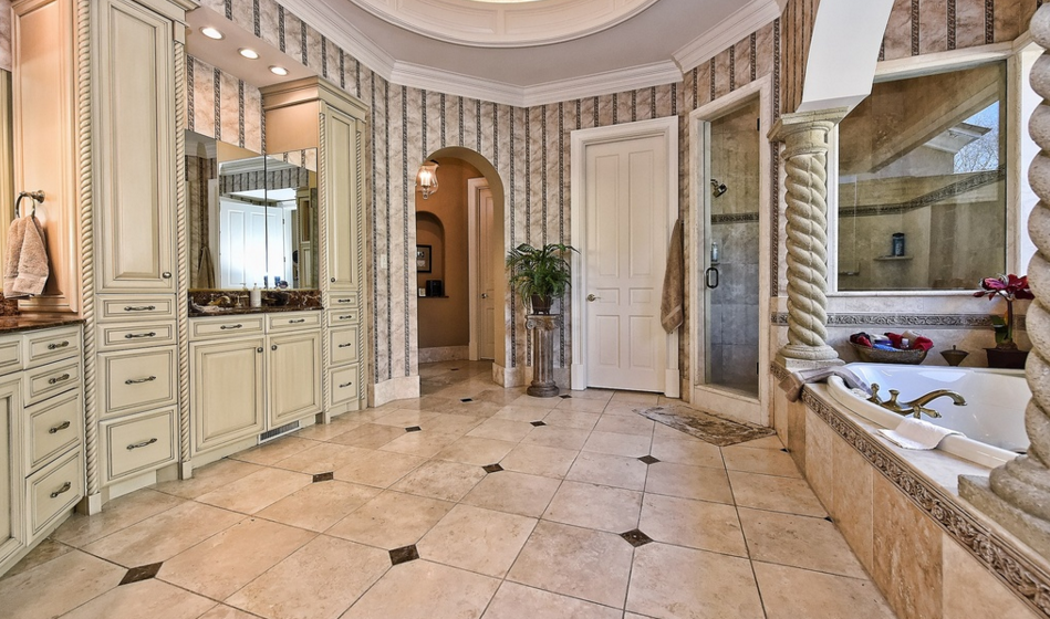 11 000 Square Foot Stone Stucco Mansion In Charlotte Nc