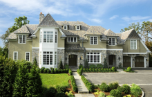 $5.685 Million Stone & Stucco Mansion In Old Greenwich, CT