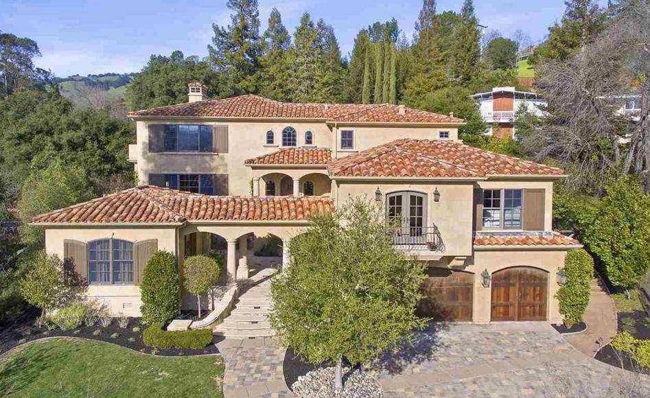 $3.675 Million Mediterranean Home In Lafayette, CA