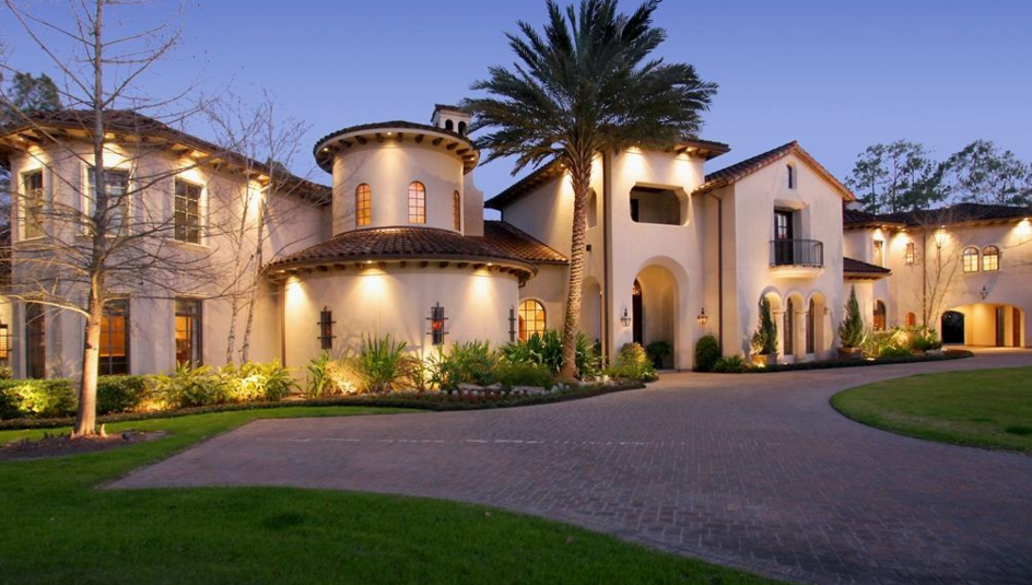 10,000 Square Foot Mediterranean Mansion In The Woodlands, TX