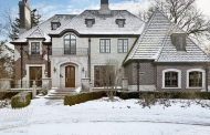 $3.299 Million Brick & Stone Home In Hinsdale, IL